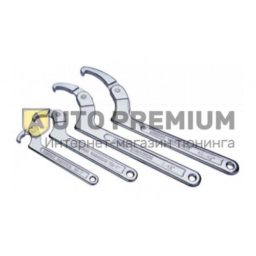 Ключ серповидный со штифтом 50-119мм «Licota» AWT-HK023.