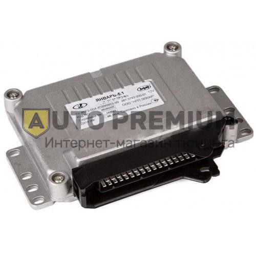 Контроллер ЭБУ Январь 5.1 2111-1411020-51 (АВТЕЛ). 8кл. 1.5л. экспорт
